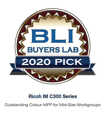 Ricoh scoops up Buyers Lab award for A4 colour intelligent MFP