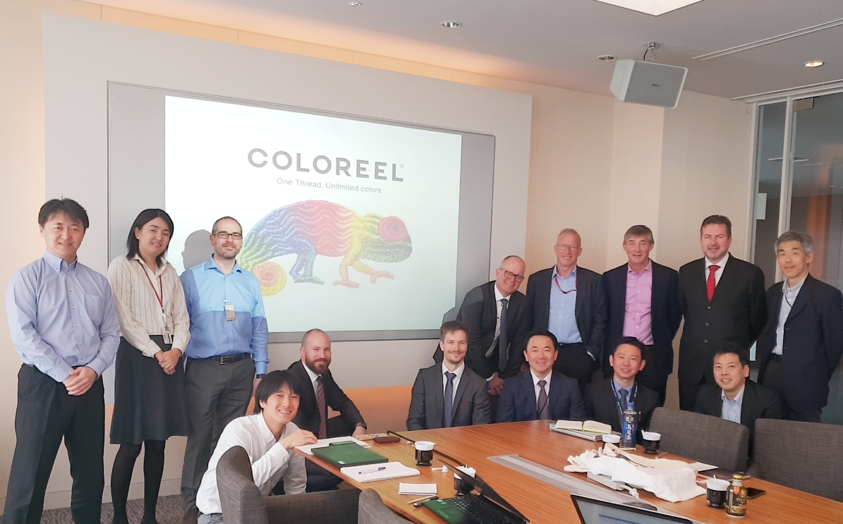Ricoh partners with Coloreel to revolutionise textile industry with thread colouring innovation